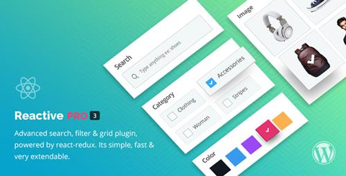 CodeCanyon - Reactive Pro v4.0.2 - Advanced WordPress Search Filter Map & Grid - 17425763