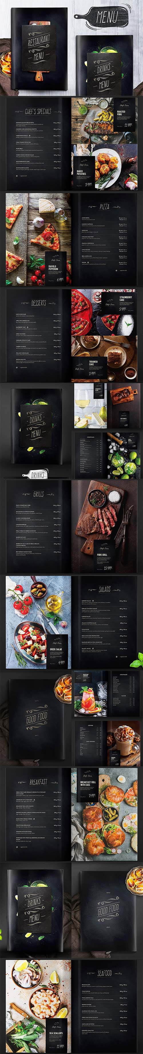 Restaurant Menu - Food & Drinks