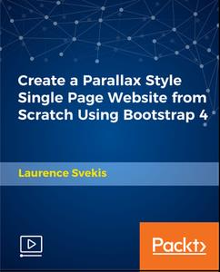 Create a Parallax Style Single Page Website from Scratch Using Bootstrap 4
