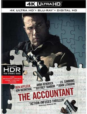 Расплата / The Accountant (2016) UHD BDRemux 2160p | HDR