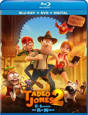 Тэд-путешественник и тайна царя Мидаса / Tadeo Jones 2: El secreto del Rey Midas (2017) Blu-ray