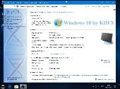 Windows 10 Pro by KDFX v2.4 (x86-x64) (2018) [Rus]