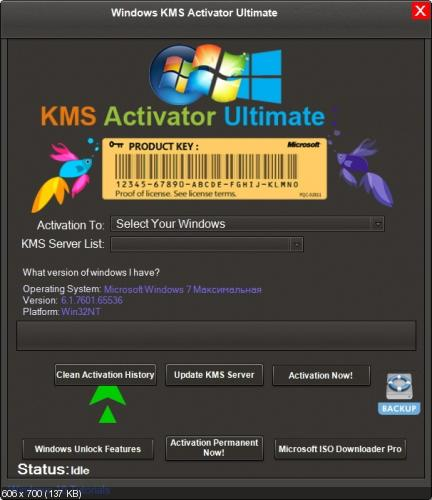 Windows KMS Activator Ultimate 2018 4.4