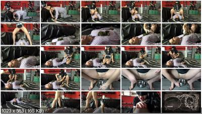 MISTRESS GAIA - SCAT MAKEOVER [Humiliation Scat / 1.15 GB] FullHD 1080p (Extreme Scat, Femdom)