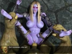 The World of Porncraft: Whorelords of Draenor [v.3.1 Final]   (2017/PC/ENG)