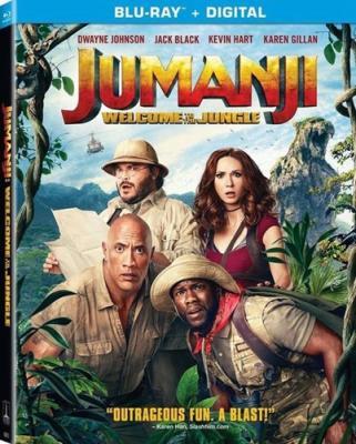 Джуманджи: Зов джунглей / Jumanji: Welcome to the Jungle (2017) BDRip 720p | iTunes