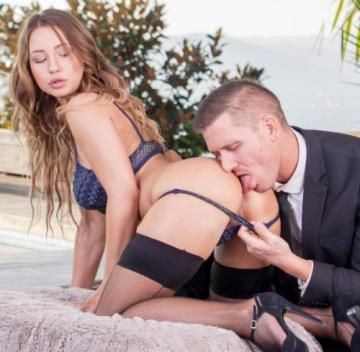 Taylor Sands - Takes anal from her big boss (2018) FullHD 1080p