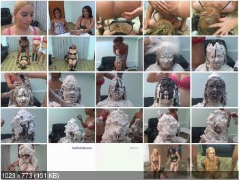 MFX Media (Jade, Darla, Leslie, Latifa) For That, you get the Works! [SD] Humiliation, Lesbians