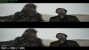 Хан Соло: Звёздные войны. Истории 3D / Solo: A Star Wars Story 3D   (Лицензия by Ash61) Вертикальная анаморфная стереопара
